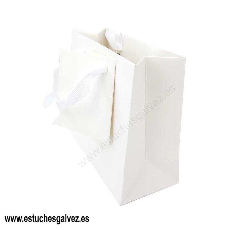 Bolsa cinta blanca