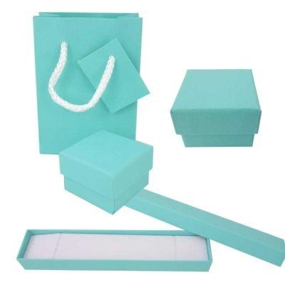 Cajas de cartón Tiffany